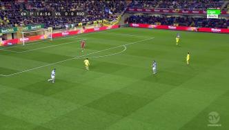 Presión agresiva del Villarreal desde el primer instante.