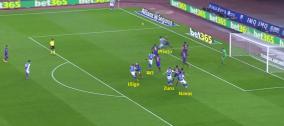 Córner vs Barcelona